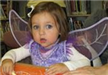 Little Girl with Fairy Wings
