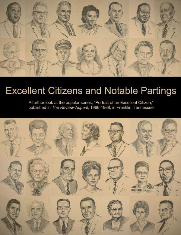 Excellent Citizens and Notable Partings, book cover