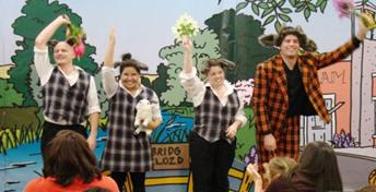 The play Three Billy Goats Gruff