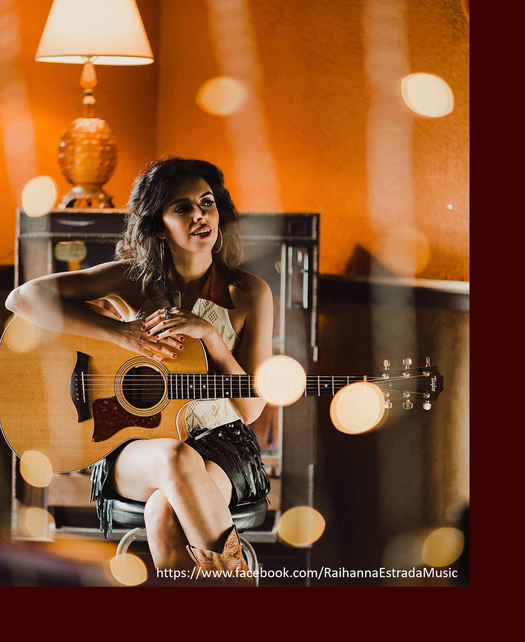 Photo of Raihanna Estrada with guitar