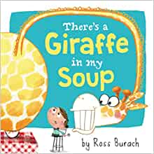 there is a giraffe in my soup book cover