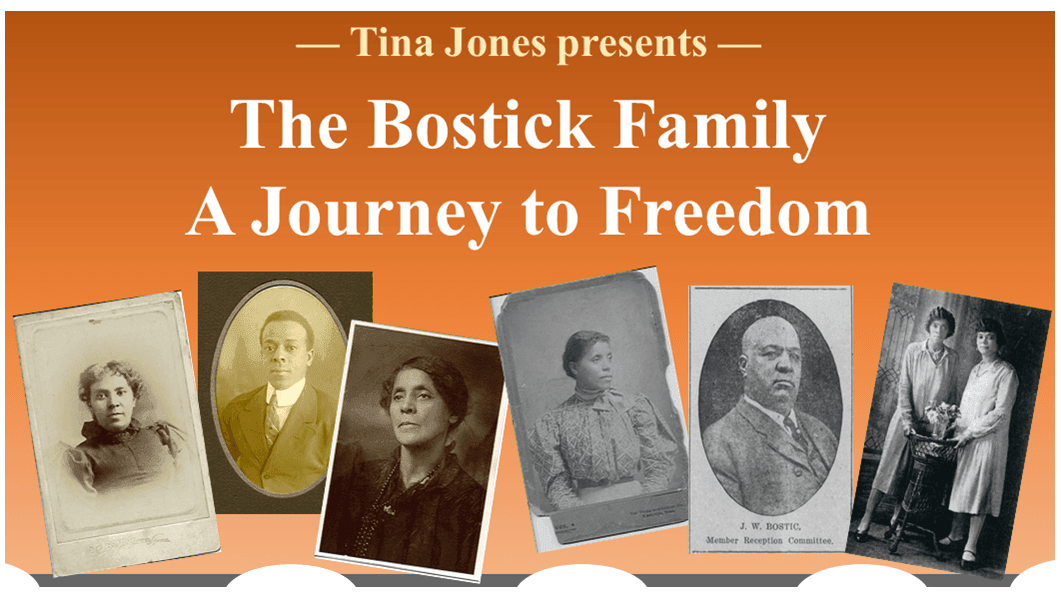 Tina Jones Presents The Bostick Family: A Journey to Freedom